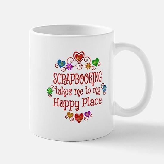 Scrapbooking Happy Place Mug