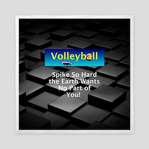 Volleyball Spike Queen Duvet