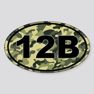 12B Combat Engineer Sticker