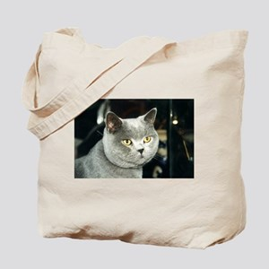 british shorthair blue 2 Tote Bag