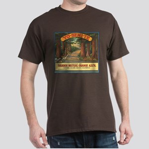 Yosemite Oranges Vintage Crat Dark T-Shirt