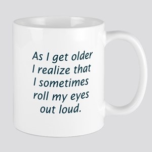 Roll Eyes Mugs