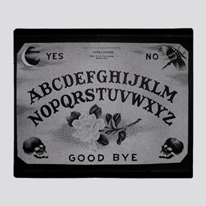 Vintage Ouija Throw Blanket