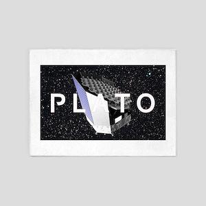 PLATO Program Logo 5'x7'Area Rug