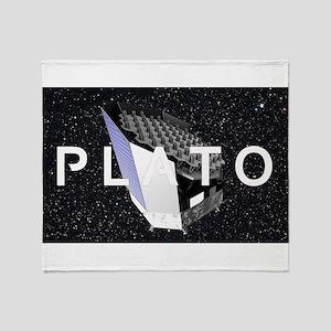 Plato Program Logo Throw Blanket