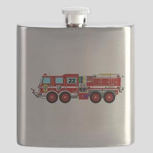 Fire Truck - Concept wild land fire truck. Flask