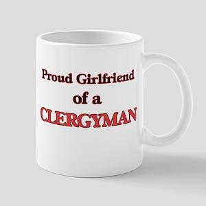Proud Girlfriend of a Clergyman Mugs
