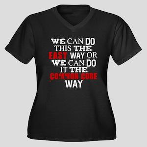 Common Core Humor Plus Size T-Shirt