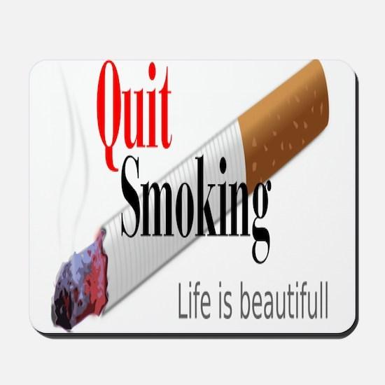 Quit Smoking Mousepad