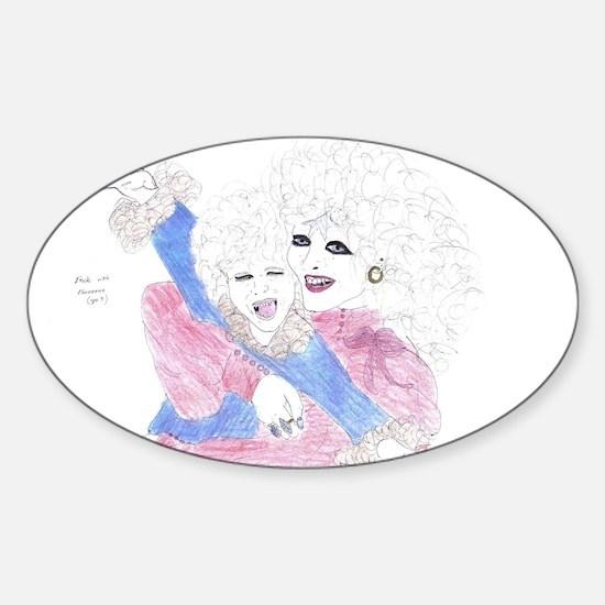 Etiole and Phozeen by Wendy C. Allen Decal