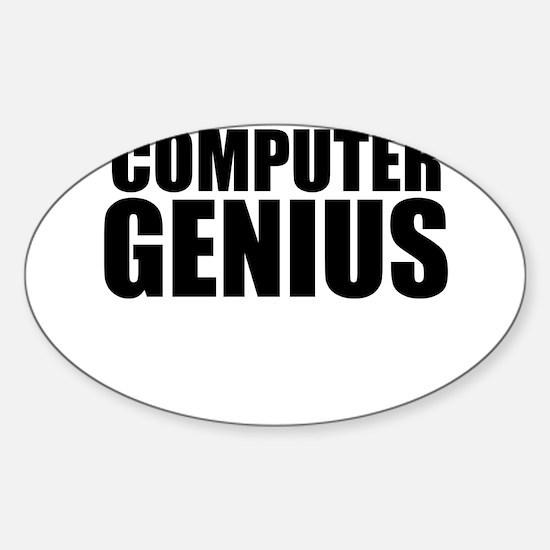 Computer Genius Decal