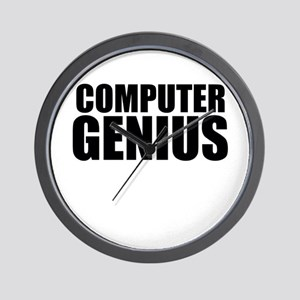 Computer Genius Wall Clock