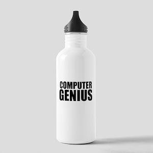 Computer Genius Water Bottle