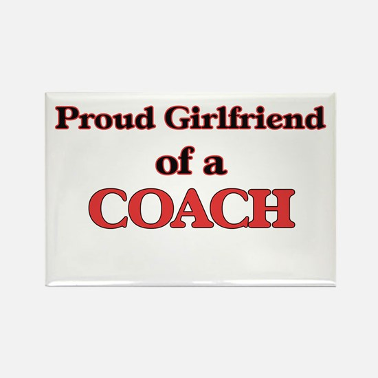 Proud Girlfriend of a Coach Magnets