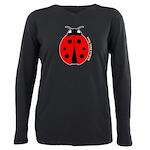 Ladybug Plus Size Long Sleeve Tee