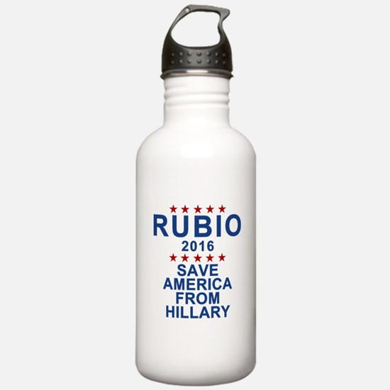 Save America From Hill Water Bottle