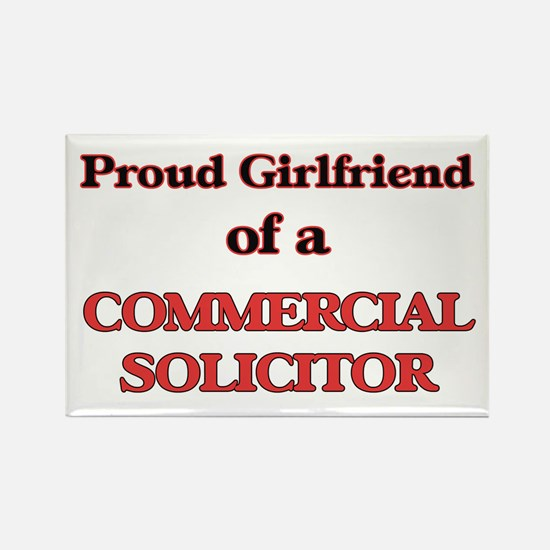 Proud Girlfriend of a Commercial Solicitor Magnets