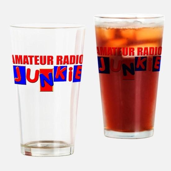 Funny Amateur Radio Drinking Glass