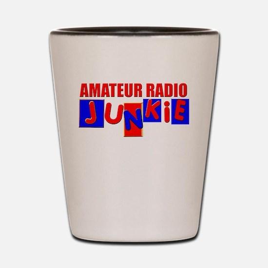 Funny Amateur Radio Shot Glass