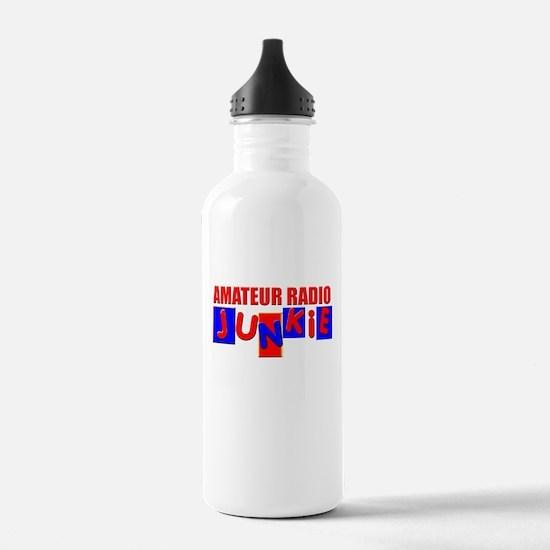 Funny Amateur Radio Water Bottle
