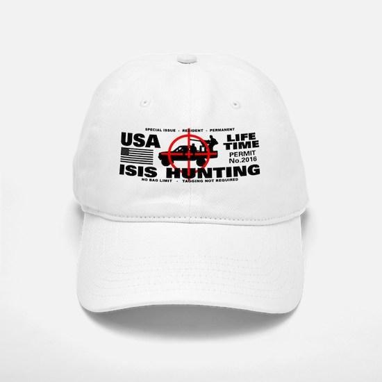 ISIS Hunting Permit Baseball Baseball Cap