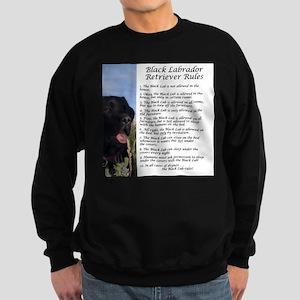 Black Lab Rule Sweatshirt