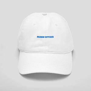Prison Officer Blue Bold Design Cap
