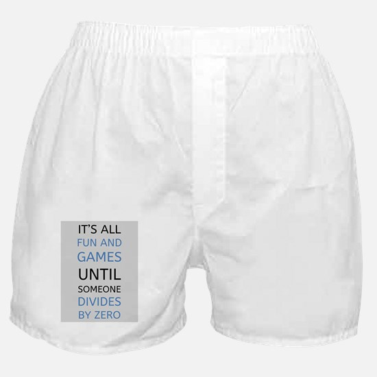 Unique Math Boxer Shorts