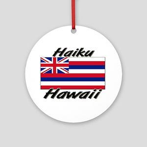 Haiku Hawaii Ornament (Round)