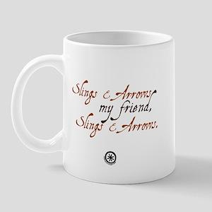 Slings & Arrows Mug