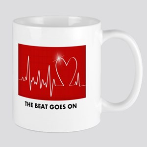 The Beat Goes On - Funny Post-Heart Surgery Mugs
