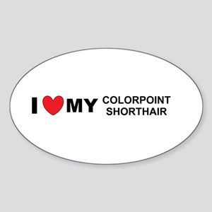 colorpoint shorthair love Sticker
