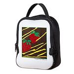 Strawberries Neoprene Lunch Bag