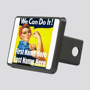 Rosie the Riveter We Can Do It Hitch Cover