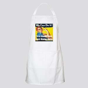 Rosie the Riveter We Can Do It Apron