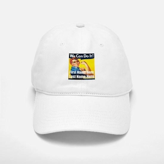 Rosie the Riveter We Can Do It Baseball Baseball Baseball Cap
