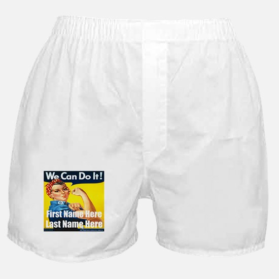 Rosie the Riveter We Can Do It Boxer Shorts