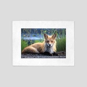 Fox 5'x7'Area Rug