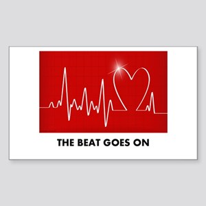 The Beat Goes On - Funny Post-Heart Surgery Sticke