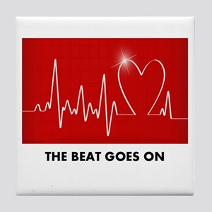 The Beat Goes On - Funny Post-Heart Surgery Tile C