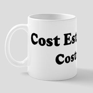 Cost Estimator costume Mug