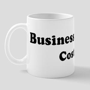 Business Student costume Mug