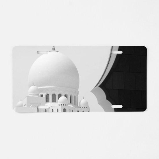 Cute United arab emirates Aluminum License Plate