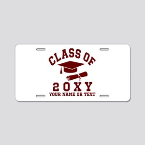 Class of 20?? Aluminum License Plate