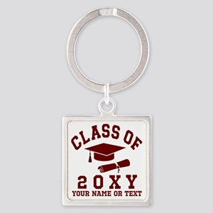Class of 20?? Square Keychain