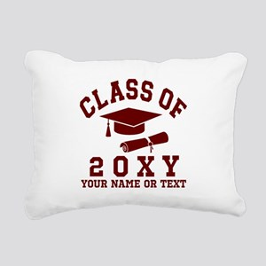 Class of 20?? Rectangular Canvas Pillow