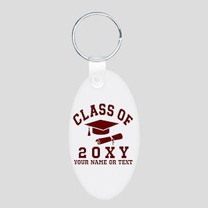 Class of 20?? Aluminum Oval Keychain
