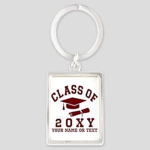 Class of 20?? Portrait Keychain