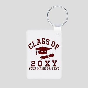 Class of 20?? Aluminum Photo Keychain
