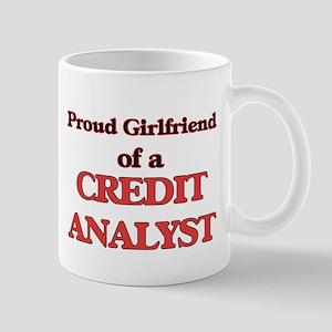Proud Girlfriend of a Credit Analyst Mugs